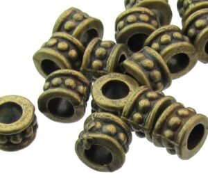 bronze wheel beads