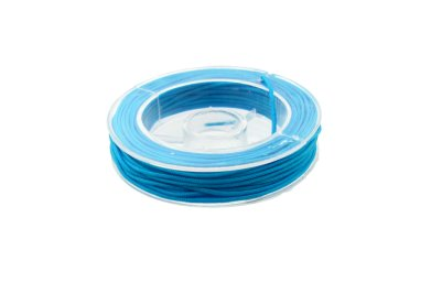aqua blue beading nylon cord for macrame