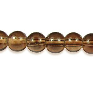 Brown Glass Beads