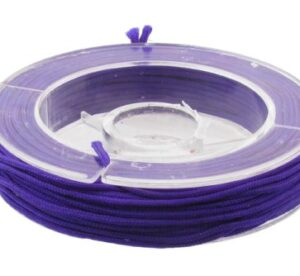 purple beading nylon cord for knotting