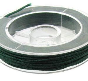 emerald green beading nylon cord