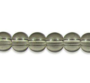 Grey Glass Beads
