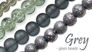 grey glass beads australia
