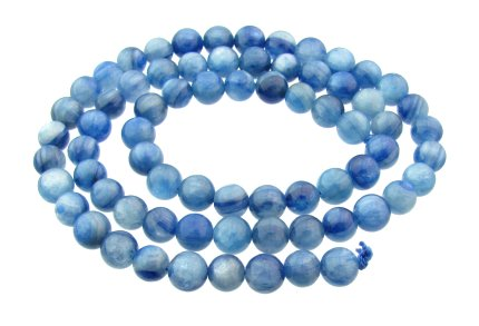 kyanite 6mm round beads