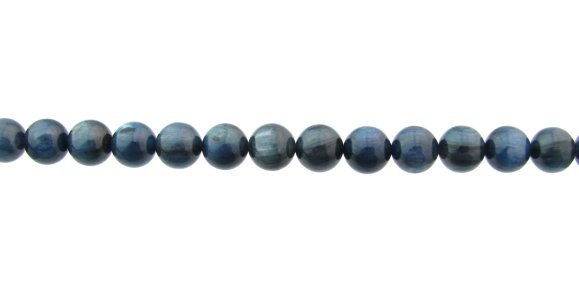 kyanite gemstone round beads 8mm