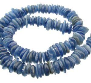 kyanite slice gemstone nugget beads