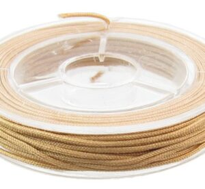 light brown nylon cord