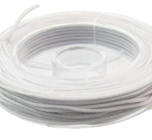 light grey nylon cord