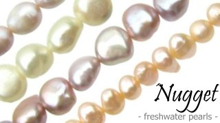 nugget freshwater pearls