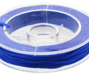 royal blue beading nylon for knotting