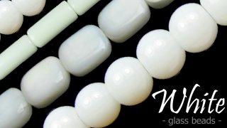 white glass beads australia