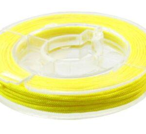 yellow beading nylon cord macrame