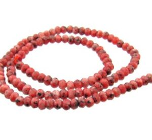 ruby jade gemstone beads