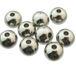 stain;ess steel round beads 8mm