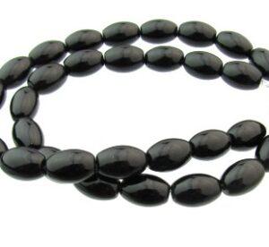 black onyx rice beads