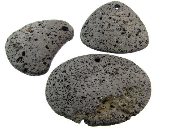 lava rock pendant