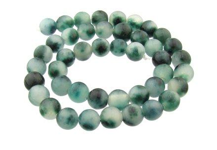 green jade gemstone beads 9mm