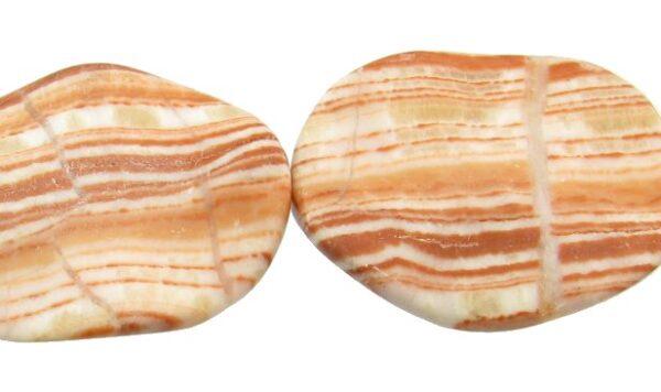 jasper with calcite gemstone beads