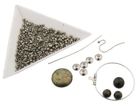 stainless steel hoop earrings tutorial materials list