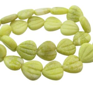 magnetite heart beads
