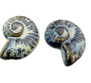 ceramic shell beads
