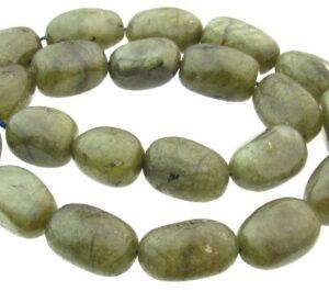 labradorite nugget gemstone beads