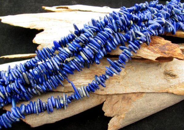 lapis lazuli slice beads