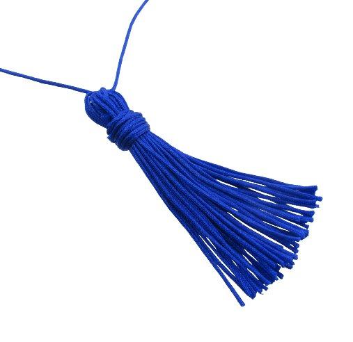 blue tassel tutorial diy