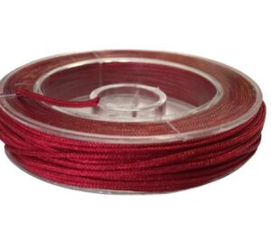 darl red beading nylon cord