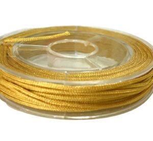 mustard yellow beading nylon for macrame