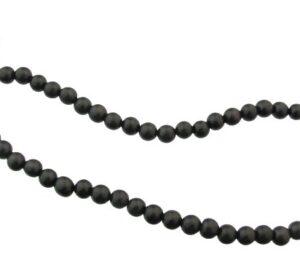 black round wood beads 8mm