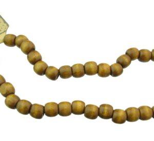 wood beads barrel